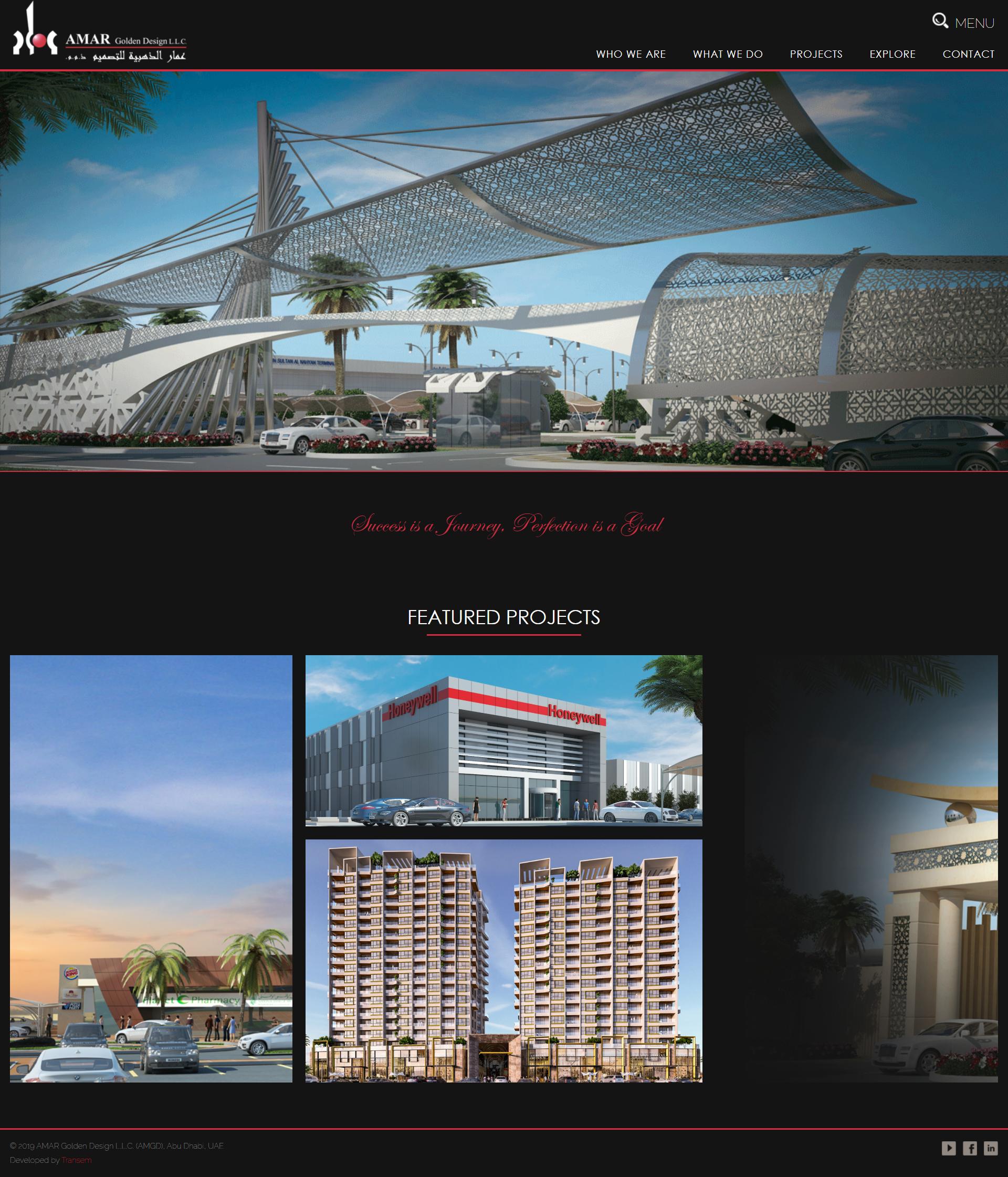 AMAR Golden Design LLC launches new web site