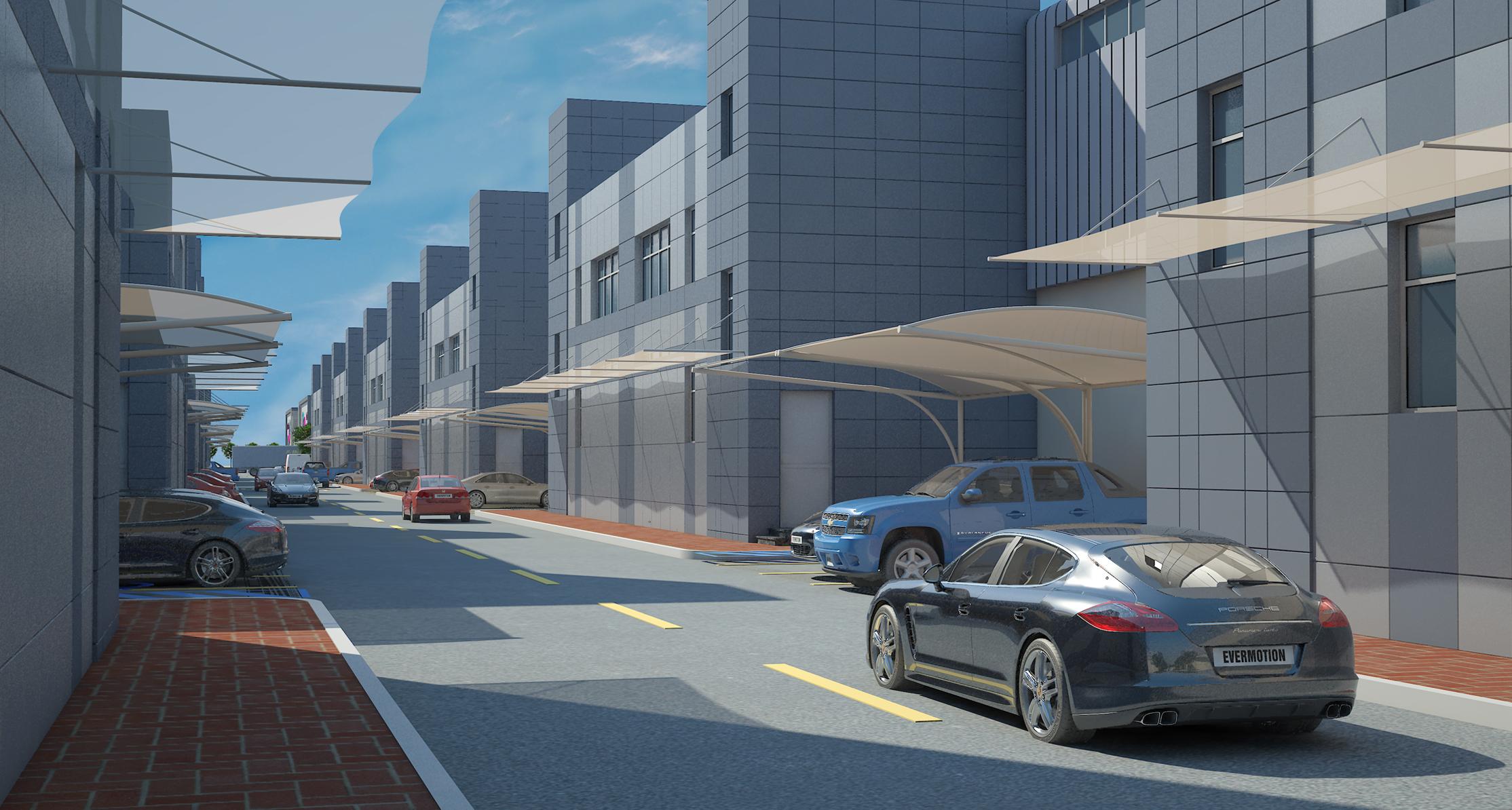 Industrial Area Master Development